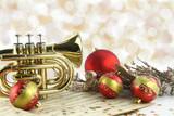 Fototapety Christmas music