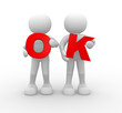 word'OK'