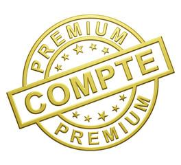 """""""Compte Premium"""" Cachet"""