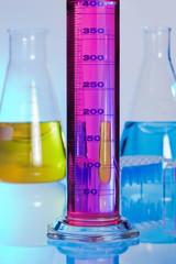 Material de cristal de laboratorio
