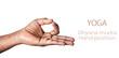 Yoga Dyana mudra