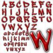 abc alphabet background wickhop font design