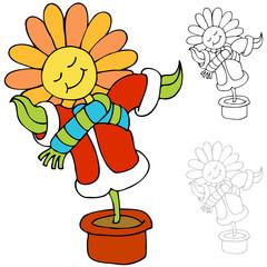 Warm Flower
