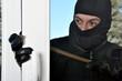 Einbrecher stemmt Fenster auf