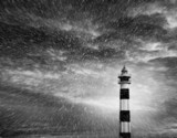 lighthouse storm