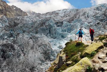 Randonnée glaciare d'Argentière