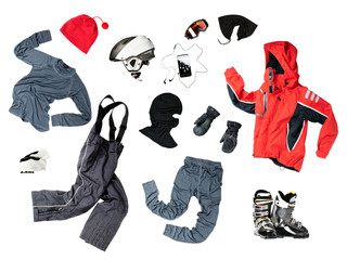 Child skier clothing