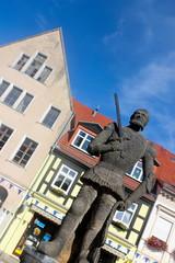 Rolandfigur in Perleberg