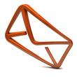 Orange Email icon