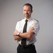 Leinwanddruck Bild - Airline pilot