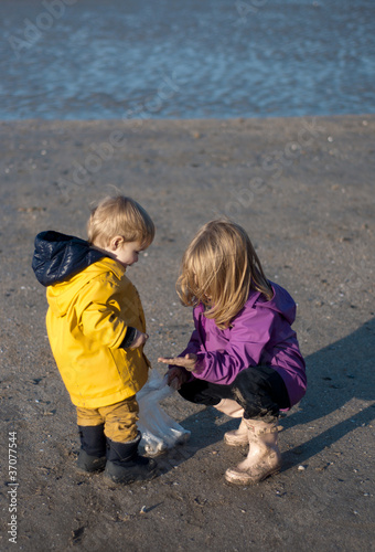 Enfants à la mer