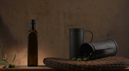 traditional olive oil atmosphere