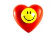 Happy Smiley on heart