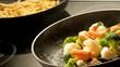 Frying Vegetables - Slow Motion 300fps