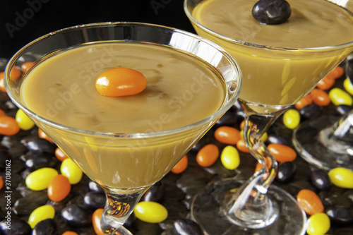 Halloween pudding with Jellyeans