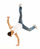 awesome breakdancing moves poster