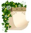 Tear-off calendar, Saint Patrick's Day