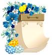 Easter tear-off calendar