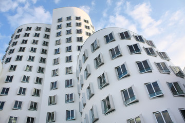 Modern art - building in Dusseldorf, Germany