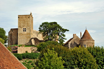 Brancion, Borgogna, villaggio medioevale