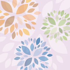 Floral background # Vector