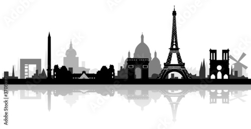 Skyline Paris detailiert