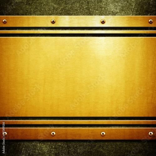 golden plate - 37089586