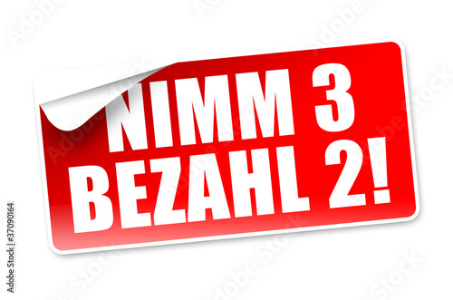 Nimm 3 bezahl 2! Button, Icon