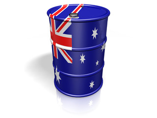 BARREL  AUSTRALIA