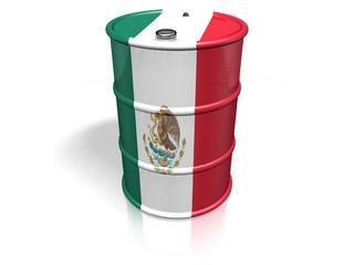 BARREL  MEXICO