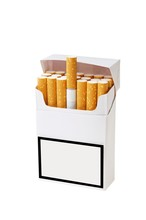 Opakowanie papierosów dziewicy