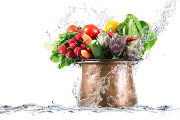 verdura splash