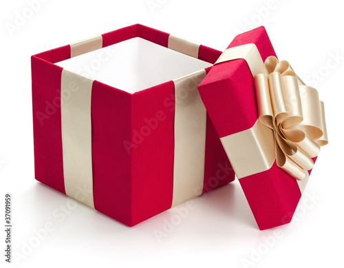 Open gift box. - 37091959