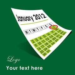 1st January 2012