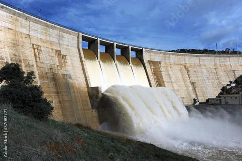 Pantano del Montoro, embalses de agua