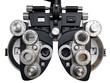 Leinwanddruck Bild - Optometrist diopter. White background.
