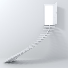 3d stairs going up!