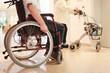 Rollstuhl und Rollator