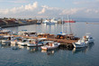 moorage in the port of Famagusta