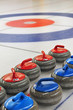 canvas print picture - Curling