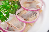 Herring with onion