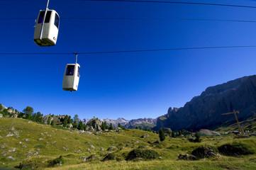 Gondelbahn - Langkofel - Dolomiten - Alpen