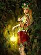 Fototapeten,fairy,herbst,haushaltshilfe,kobold