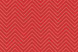 Trendy chevron patterned background red and black poster