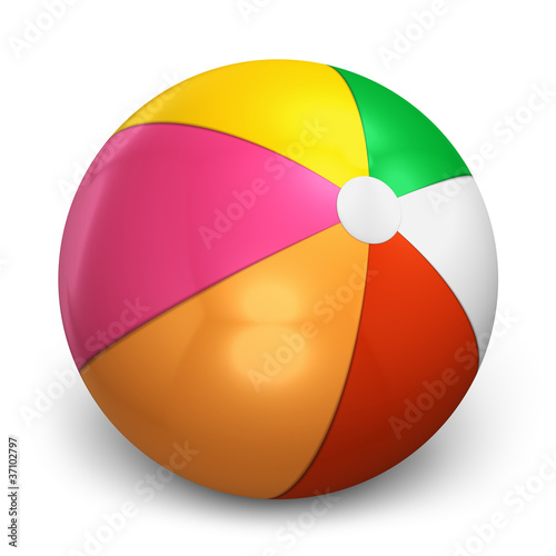 Color beach ball