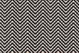 Trendy chevron patterned background poster