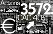 Bourse - actions - trader