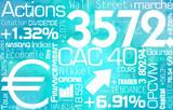 graphique : business - augmentation - bourse poster
