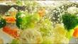 Vegetables in Slow Motion