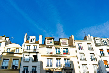 beautiful Parisian streets view